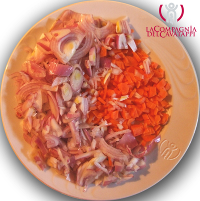 battuto di cipolle e carote