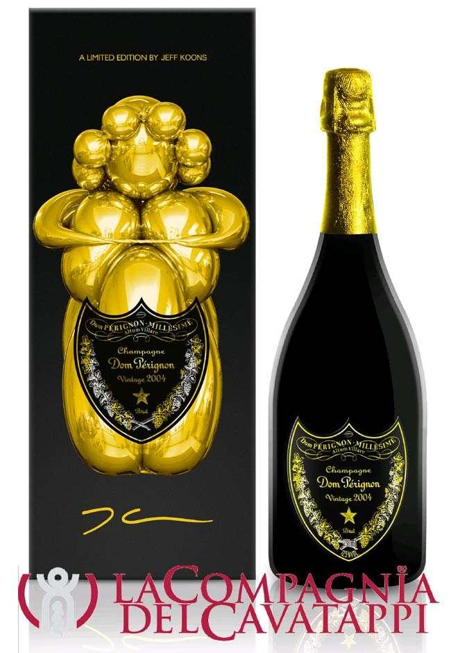 dom pèrignon jeff koons champagne vintage 2004 confezione regalo