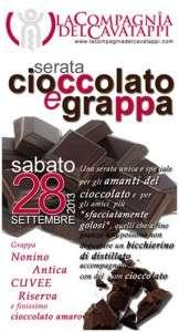Serata Cioccolato e Grappa