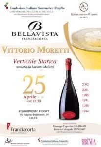 Verticale Vittorio Moretti Lecce 25 Aprile 2016